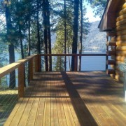 Seven Bays WA custom deck railing & finishing