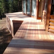 Deck construction & sanding Spokane WA