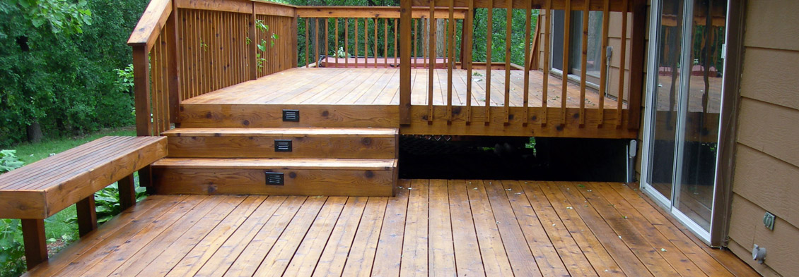 deck stain & refinish Spokane