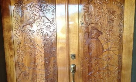 Spokane door refinishing projects