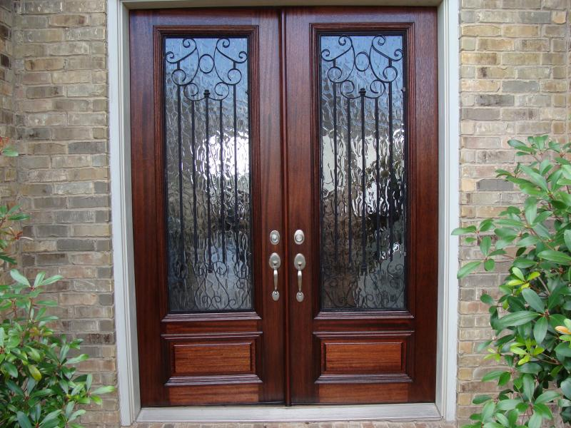 Stevens County door refinishing & stain