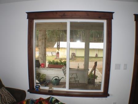 Refinishing Window Sills Jams Interior Doors Spokane