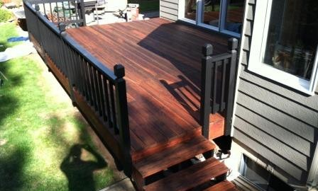 Spokane Washington Wood Deck Refinish