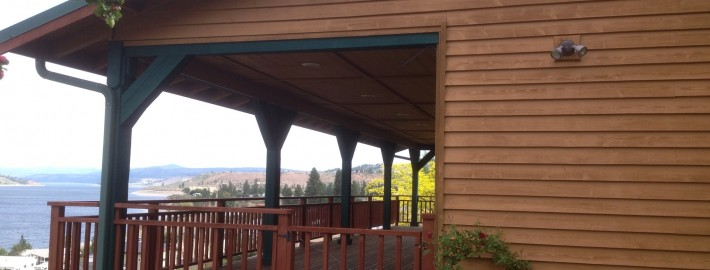 wood deck refinishing in Seven Bays Washington