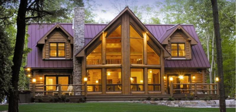 Whitman County log homes Hooper & Thornton