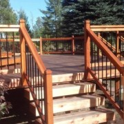 outdoor deck sealant and refinish project Spokane