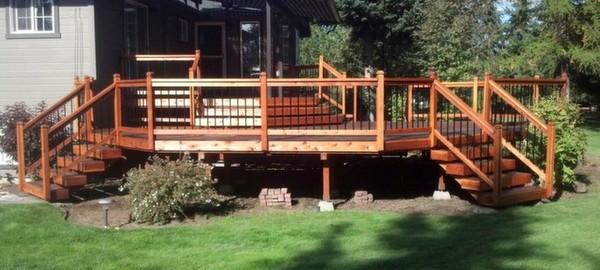 Spokane deck sealing and refinishing