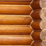 Log home corners in Spokane WA