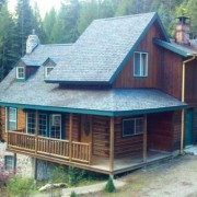 Log Home staining, paint and refinishing Chewelah WA