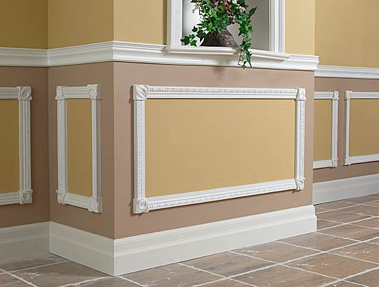 painted wood work and molding interiors Spokane