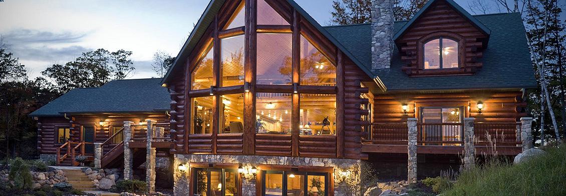 Log Home Painting & Sealing Spokane