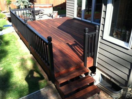 Sanding Refinish Wood Decking In Spokane Chewelah Painting